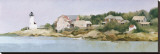 View from Wingershier Beach Stretched Canvas Print by Albert Swayhoover