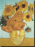 Girassóis, c.1888 Impressão em tela esticada por Vincent van Gogh