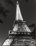 Eiffel Tower Stretched Canvas Print by Christopher Bliss