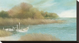 Saltaway Bay Stretched Canvas Print by Albert Swayhoover