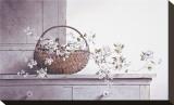 Fleurs de printemps Reproduction transférée sur toile par Ray Hendershot