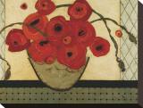 Poppies for the Host Impressão em tela esticada por Karen Tusinski