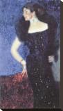 Portrait of Rose von Rosthorn-Friedmann Reproducción de lámina sobre lienzo por Gustav Klimt