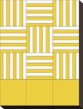 Basket Weave Key Stretched Canvas Print by Dan Bleier