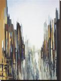 Abstracto urbano No. 141 Reproducción en lienzo de la lámina por Gregory Lang