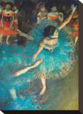 Bailarina Reproducción en lienzo de la lámina por Edgar Degas