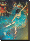 Dancer Stretched Canvas Print by Edgar Degas