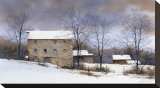Millside Stretched Canvas Print by Ray Hendershot