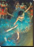 ダンサー キャンバスプリント : エドガー・ドガ