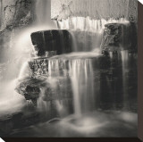 Waterfall, Study no. 1 Stretched Canvas Print by Andrew Ren