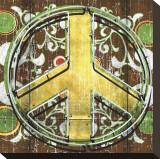 Peace II Sträckt kanvastryck av Anthony Ross