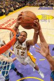 New Orleans Hornets v Los Angeles Lakers - Game One, Los Angeles, CA - April 17: Shannon Brown Photographic Print