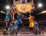 New Orleans Hornets v Los Angeles Lakers - Game Five, Los Angeles, CA - April 26: Kobe Bryant Photo
