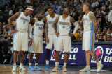 Oklahoma City Thunder v Denver Nuggets-Game Four, Denver, CO - April 25: Al Harrington, Raymond Fel Photographic Print