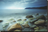 Meat Cove, Nova Scotia Stretched Canvas Print by Andrew Ren