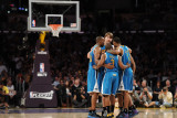 New Orleans Hornets v Los Angeles Lakers - Game Five, Los Angeles, CA - April 26: Chris Paul, Aaron Photographic Print