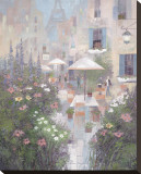 Jardin Rivoli Stretched Canvas Print by Albert Swayhoover