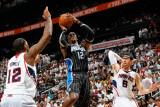 Orlando Magic v Atlanta Hawks - Game Four, Atlanta, GA - April 24: Dwight Howard, Kirk Hinrich and  Photographic Print