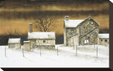 Evening Star Stretched Canvas Print by B. Hendershot
