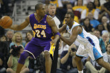 Chris Paul and Kobe Bryant Photographic Print