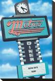 Metro Diner Sträckt kanvastryck av Anthony Ross