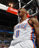 Milwaukee Bucks v Oklahoma City Thunder, Oklahoma City, OK - April 13: Russell Westbrook Photo