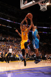 New Orleans Hornets v Los Angeles Lakers - Game Five, Los Angeles, CA - April 26: Matt Barnes Photographic Print
