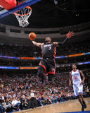 Miami Heat v Philadelphia 76ers - Game Four, Philadelphia, PA - April 24: Dwyane Wade Photographic Print