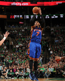 New York Knicks v Boston Celtics - Game One, Boston, MA - April 17: Carmelo Anthony Photographic Print