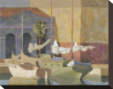Marbella Reproduction transférée sur toile par William Buffett