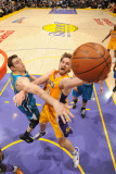 New Orleans Hornets v Los Angeles Lakers - Game Two, Los Angeles, CA - April 20: Pau Gasol Photographic Print