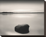 Solo Floating on Ottawa River, Study, no. 2 Stretched Canvas Print by Andrew Ren