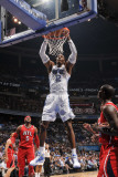 Atlanta Hawks v Orlando Magic - Game Two, Orlando, FL - April 19: Dwight Howard Photographic Print