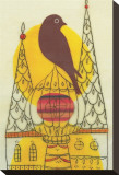 Early Bird Sträckt Canvastryck av Amy Ruppel