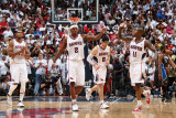 Joe Johnson and Jamal Crawford Photographic Print