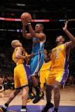 New Orleans Hornets v Los Angeles Lakers - Game Five, Los Angeles, CA - April 26: Chris Paul, Derek Photographic Print