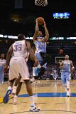 Denver Nuggets v Oklahoma City Thunder - Game One, Oklahoma City, OK - April 17: Wilson Chandler Photographic Print