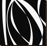 Fistral Nero Blanco I Reproduction sur toile tendue par Denise Duplock