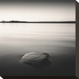 Solo Floating on Ottawa River, Study, no. 1 Stretched Canvas Print by Andrew Ren