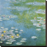 Nympheas at Giverny Leinwand von Claude Monet