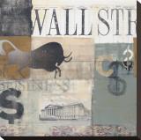 Bull Run Impressão em tela esticada por Alec Parker