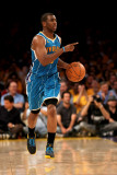 New Orleans Hornets v Los Angeles Lakers - Game One, Los Angeles, CA - April 17: Chris Paul Fotografisk tryk