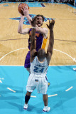 Los Angeles Lakers v New Orleans Hornets - Game Four, New Orleans, LA - April 24: Pau Gasol and Car Photographic Print