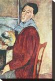 Self Portrait Impressão em tela esticada por Amedeo Modigliani