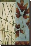 Folhas Caindo Impressão em tela esticada por Dominique Gaudin