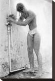 Summer Shower Reproduction transférée sur toile par Fred Goudon