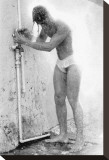 Summer Shower Opspændt lærredstryk af Fred Goudon