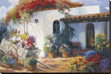Honeymoon Casita Stretched Canvas Print by  Hawley
