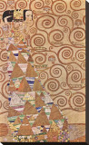 Expectation, Stoclet Frieze, c.1909 Stretched Canvas Print by Gustav Klimt