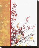 Autumn Impasto Stretched Canvas Print by Erin Clark